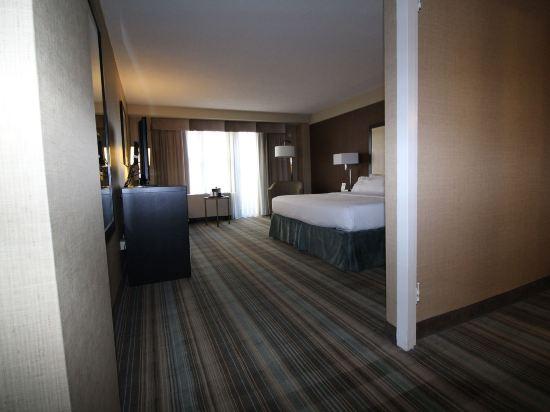 紐約沃森酒店(原紐約曼哈頓第57街假日酒店)(The Watson Hotel (Formerly Holiday Inn Manhattan 57th Street))豪華轉角特大床房