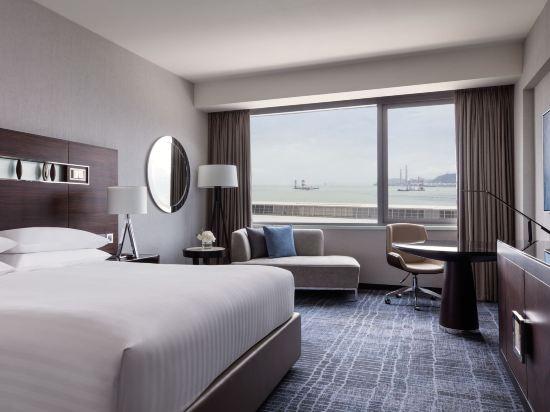香港天際萬豪酒店(Hong Kong SkyCity Marriott Hotel)尊貴客房