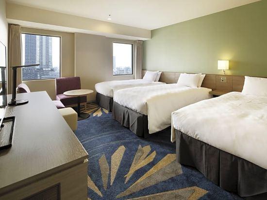 東京太陽城王子大酒店(Sunshine City Prince Hotel Tokyo)城市樓層雙床房A