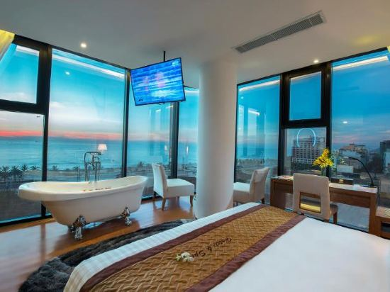 峴港西西里亞水療酒店(Cicilia Hotel & Spa Da Nang)海洋水療一室公寓