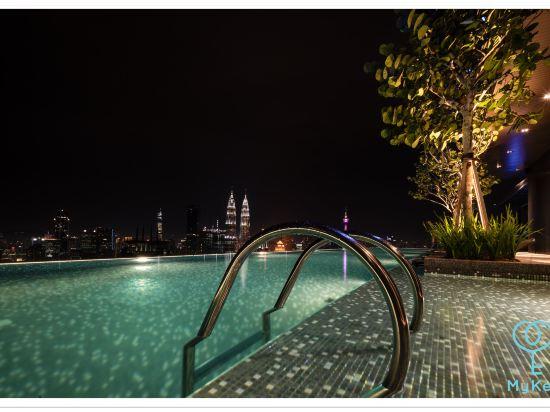 吉隆坡星匯公寓式酒店(Expressionz Professional Suites by MyKey Global)室外游泳池