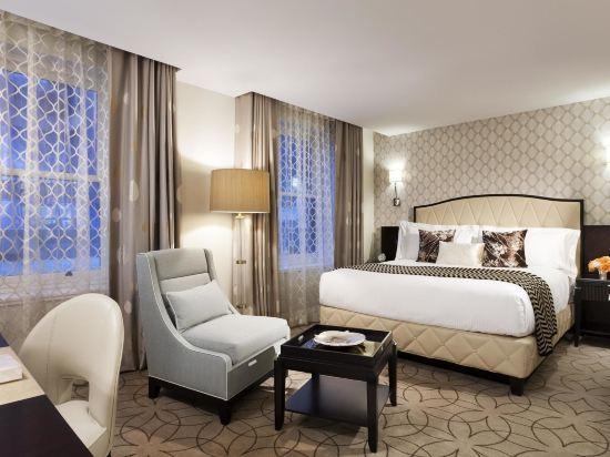 温哥華瑰麗酒店(Rosewood Hotel Georgia)高級特大床房