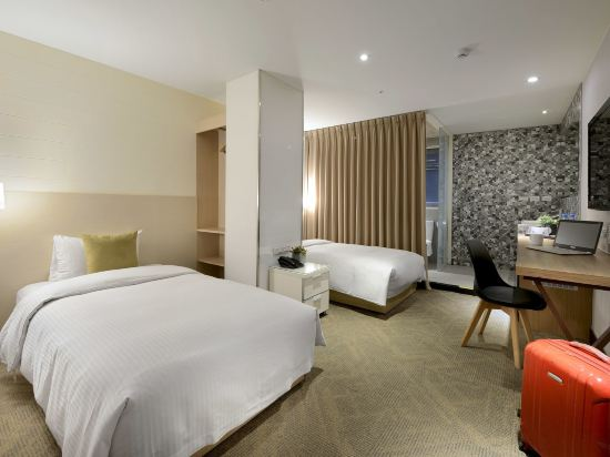 豐居旅店(台北西門館)(Via Hotel)標準雙床房