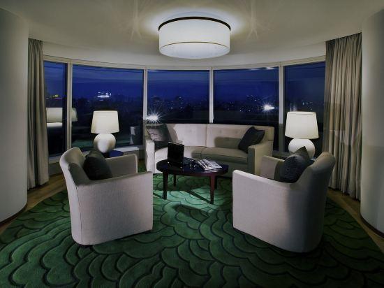首爾世貿中心洲際酒店(InterContinental Seoul COEX)轉角套房