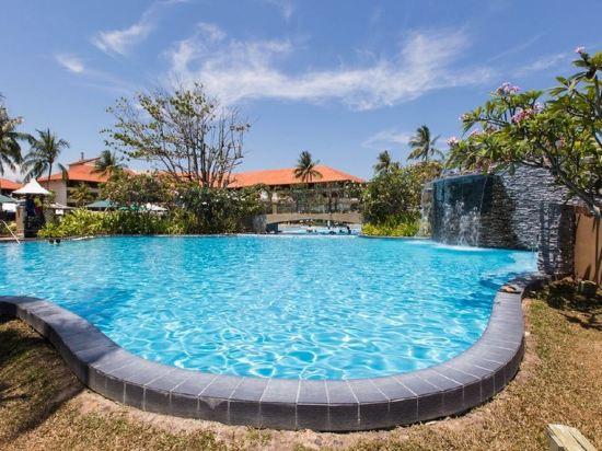 哥打京那巴魯香格里拉丹絨亞路酒店(Shangri-La's Tanjung Aru Resort & Spa Kota Kinabalu)室外游泳池
