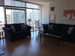 澤西市曼哈頓天際線美景超現代套房公寓(Ultra Modern Suites Facing Manhattan Skyline Jersey City)