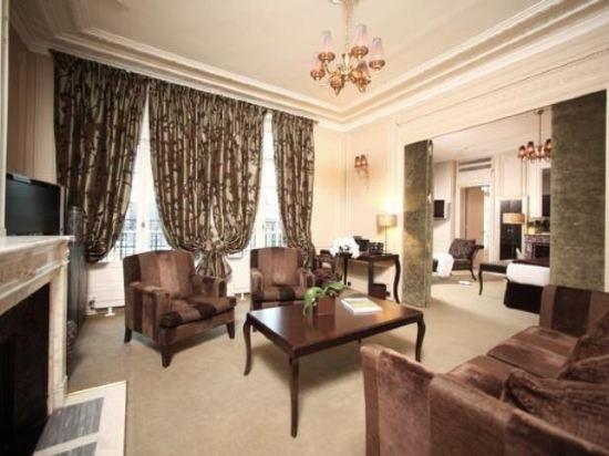 巴黎香謝麗舍廣場酒店(Hotel Champs Elysees Plaza Paris)尊貴套房