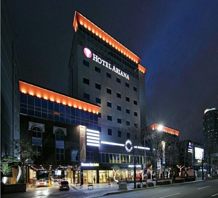 大邱愛莉安娜酒店Ariana Hotel Daegu
