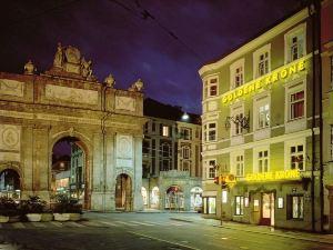 因斯布魯克邁諾特金克朗酒店(Hotel Goldene Krone Innsbruck)