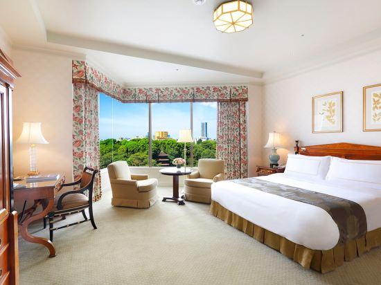 東京椿山莊大酒店(Hotel Chinzanso Tokyo)園景至尊特大床房