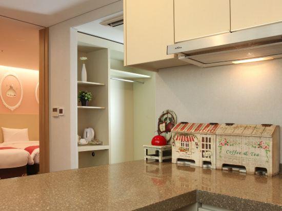 空中花園東大門金斯敦酒店(Hotel Skypark Kingstown Dongdaemun)三人公寓