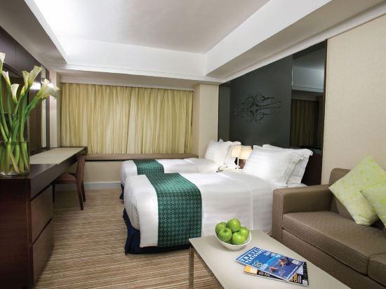 香港8度海逸酒店(Harbour Plaza 8 Degrees)豪華城景房