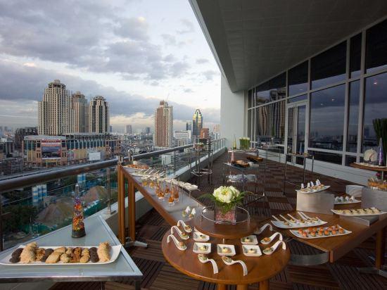 曼谷盛泰瀾中央世界商業中心酒店(Centara Grand at Centralworld)眺望遠景
