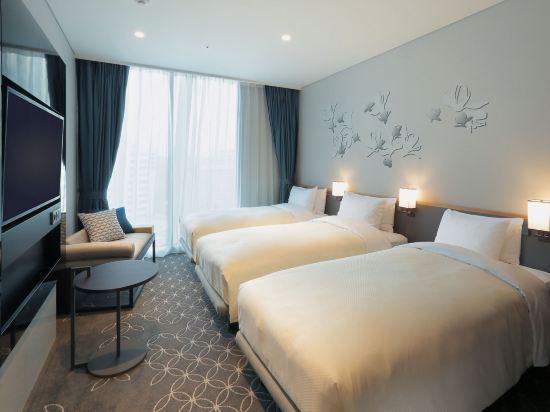 格拉斯麗首爾酒店(Hotel Gracery Seoul)標準三人房