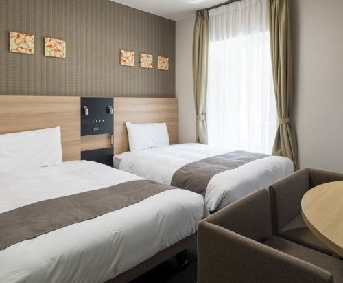 大阪心齋橋舒適酒店(Comfort Hotel Osaka Shinsaibashi)雙床房