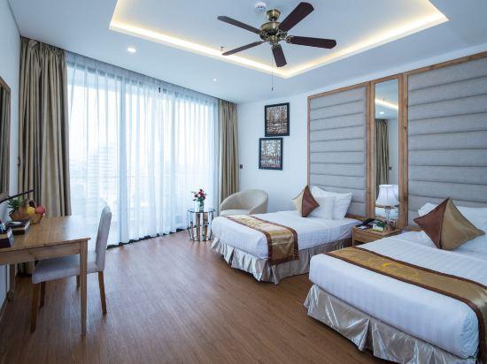 峴港西西里亞水療酒店(Cicilia Hotel & Spa Da Nang)至尊豪華房