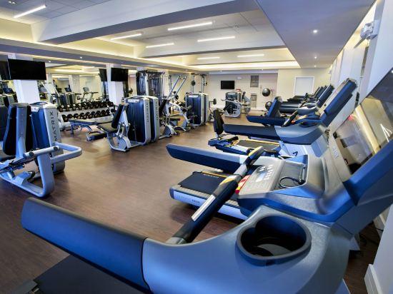 紐約市中心萬豪酒店(New York Marriott Downtown)健身房