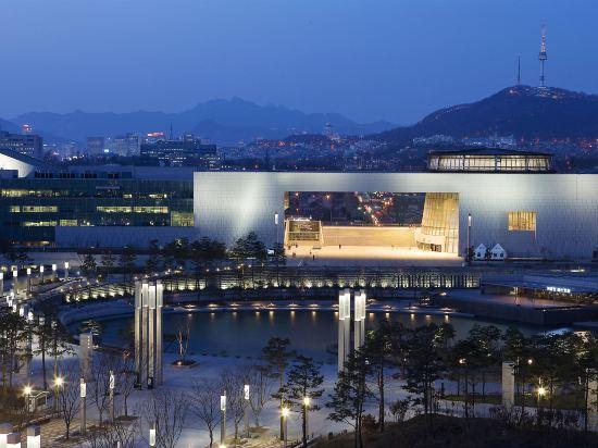 首爾威斯汀朝鮮酒店(The Westin Chosun Hotel Seoul)外觀