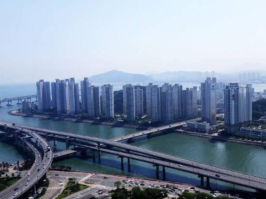 釜山海雲台百人觀公寓酒店