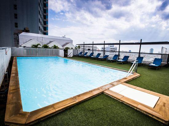 曼谷查達酒店(Bangkok Cha-Da Hotel)室外游泳池