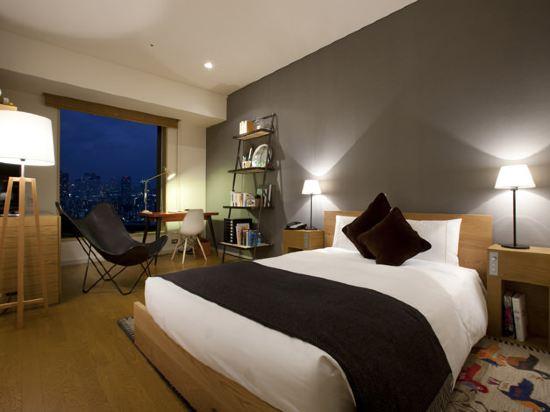 東京汐留皇家花園酒店(The Royal Park Hotel Tokyo Shiodome)標準雙人床房-思考-THE CONRAN SHOP設計(概念樓層)