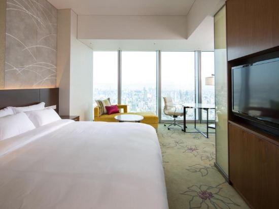 大阪萬豪都酒店(Osaka Marriott Miyako Hotel)連通房
