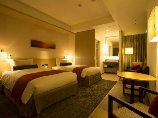 新宿花JR九州酒店(Jr Kyushu Hotel Blossom Shinjuku)豪華雙床房