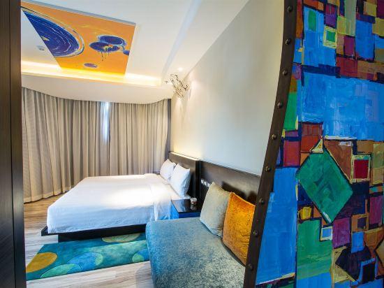 芭堤雅暹羅設計酒店(Siam@Siam Design Hotel Pattaya)精緻轉角海景房