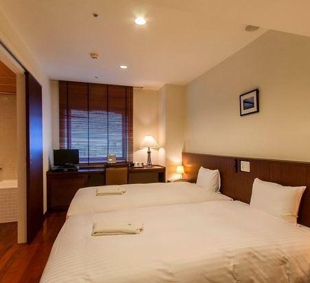博多市善騰酒店(Sutton Hotel Hakata City)好萊塢雙床房