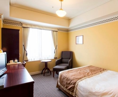 札幌蒙特利埃德爾霍夫酒店(Hotel Monterey Edelhof Sapporo)小型雙人床房