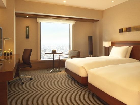 東京凱悅酒店(Hyatt Regency Tokyo)景觀豪華雙床房