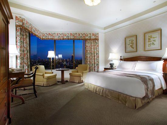 東京椿山莊大酒店(Hotel Chinzanso Tokyo)城景尊貴特大房(帶水療)