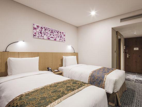 首爾帝馬克豪華酒店明洞(Tmark Grand Hotel Myeongdong)連通標準雙床房