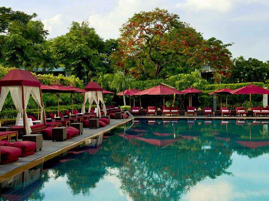 曼谷素可泰酒店(The Sukhothai Bangkok)室外游泳池