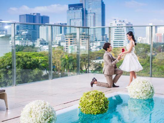 曼谷東方酒店(Oriental Residence Bangkok)室外游泳池