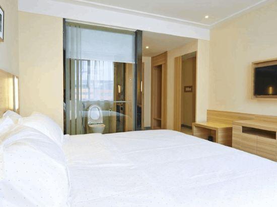 城市便捷吉隆坡武吉免登店(City Comfort Hotel Bukit Bintang)高級特大床房(無窗)