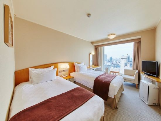 品川王子大飯店(Shinagawa Prince Hotel)主塔樓雙床房