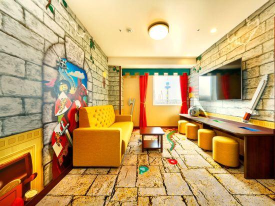 日本樂高樂園酒店(Legoland Japan Hotel)景觀王國主題套房