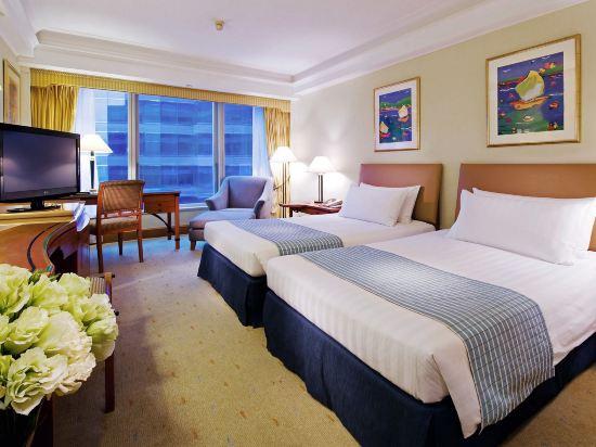 香港九龍海逸君綽酒店(Harbour Grand Kowloon)貴賓樓層園景房