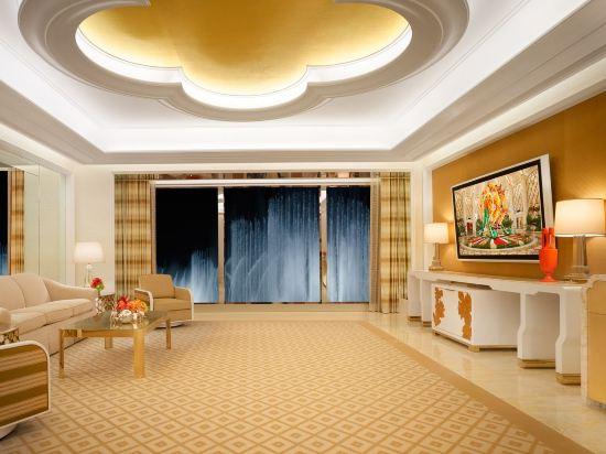 澳門永利皇宮酒店(Wynn Palace)表演湖景珀麗套房