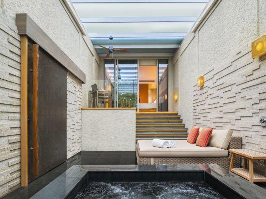 新加坡聖淘沙艾美酒店(Le Méridien Singapore, Sentosa)温泉套房