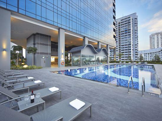 新加坡莊家大酒店(Hotel Boss Singapore)室外游泳池