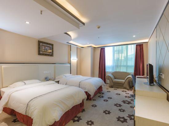 金域酒店(珠海拱北口岸步行街店)(Jin Yu Hotel (Zhuhai Gongbei Port Pedestrian Street))豪華雙床房