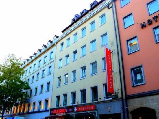 慕尼黑城中心赫爾維蒂亞酒店