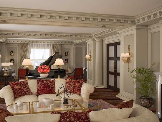 紐約巴克萊洲際大酒店(InterContinental New York Barclay Hotel)總統套房