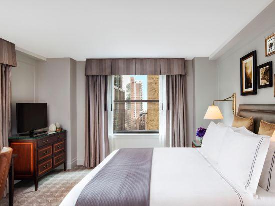 紐約巴克萊洲際大酒店(InterContinental New York Barclay Hotel)巴克利特大床房
