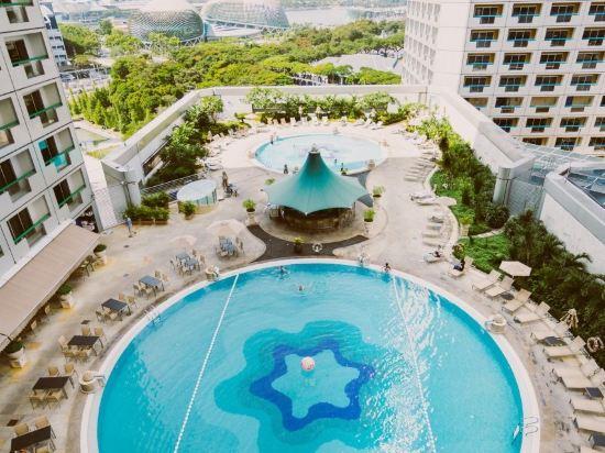 新加坡費爾蒙酒店(Fairmont Singapore)室外游泳池