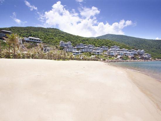 峴港洲際陽光半島度假酒店(InterContinental Danang Sun Peninsula Resort)私人海灘