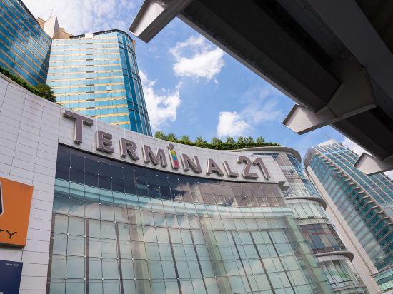 曼谷素坤逸希爾頓逸林酒店(DoubleTree by Hilton Sukhumvit Bangkok)外觀