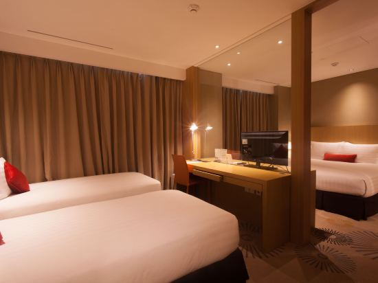 釜山索拉利亞西鐵酒店(Solaria Nishitetsu Hotel Busan)三人房